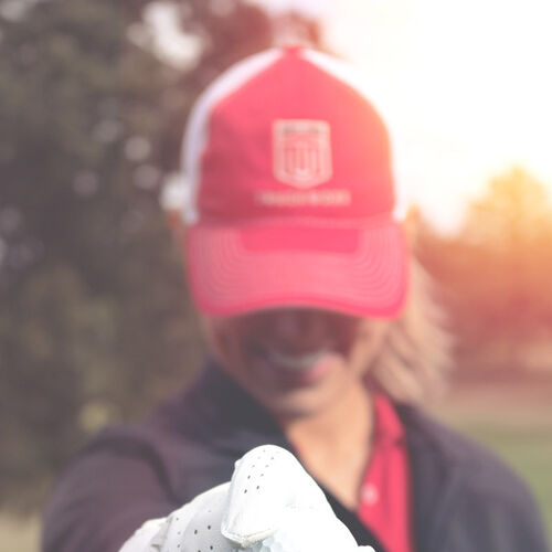 Hat & Golf Glove