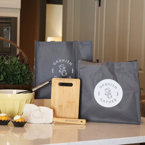 Garnish & Gather Non-Woven Grocery Totes