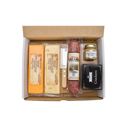 Gourmet Meat & Cheese Gift Set